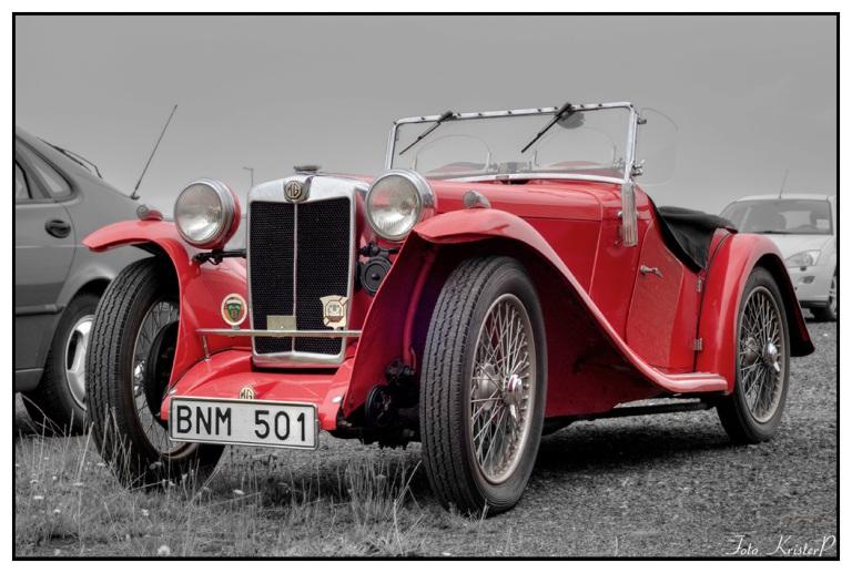 RED: Old vintage car