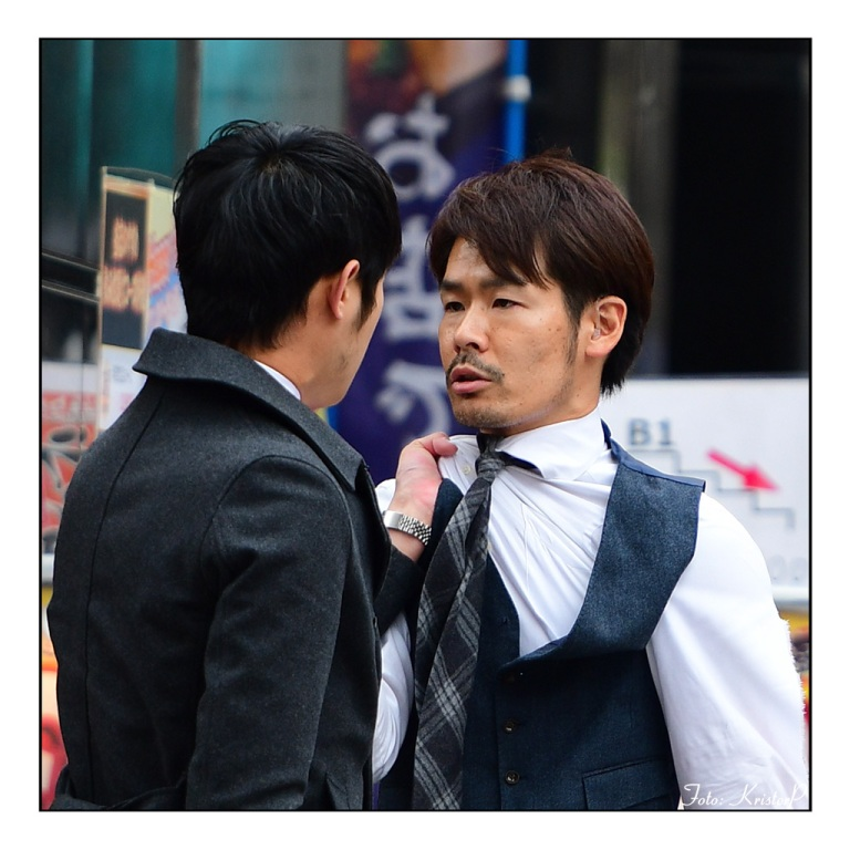 Unexpected street moment: Tokyo brawl