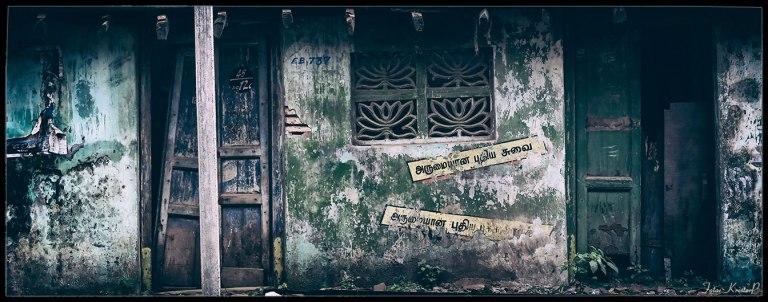 Street scene India: EB737