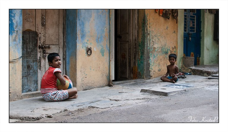 Street scene India