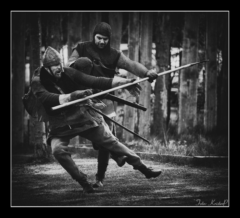 Action in b/w