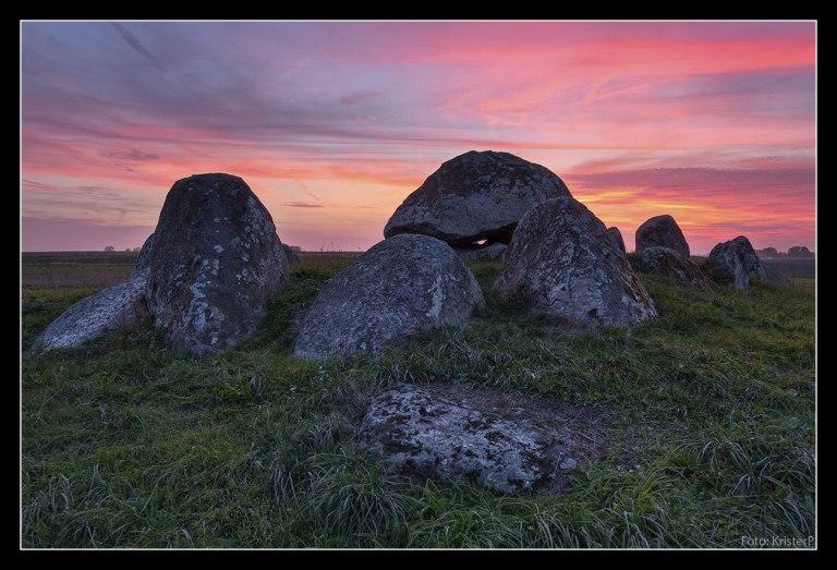 The Skegrie dolmen
